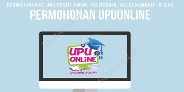 Borang Permohonan UPU 2018 Online UA Politeknik
