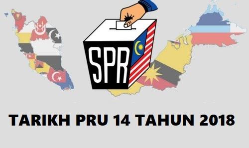 tarikh mengundi pilihanraya umum ke 14 tahun 2018