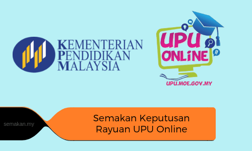 Semakan Keputusan Rayuan UPU 2019 Online