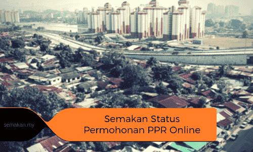 Semakan Status Permohonan Rumah Ppr Secara Online Setiap Negeri