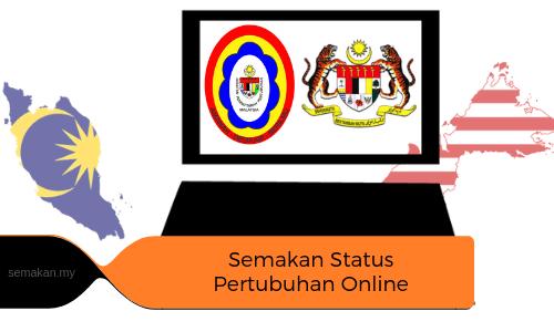Semakan Status Pertubuhan secara Online