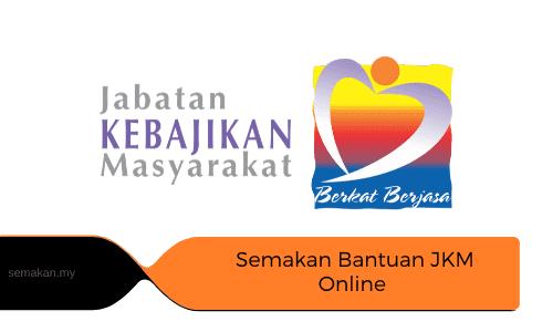 Semakan Bantuan JKM Online